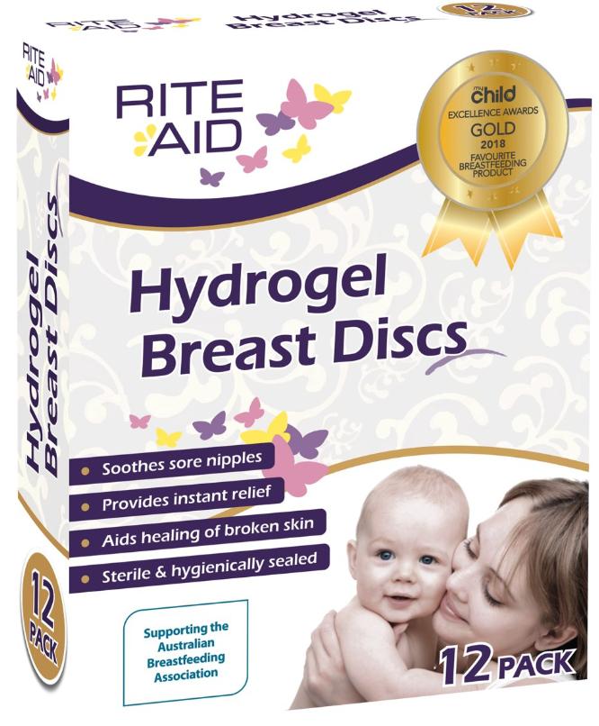 Rite Aid Rite aid Hydrogel pads / breast discs  per stuk