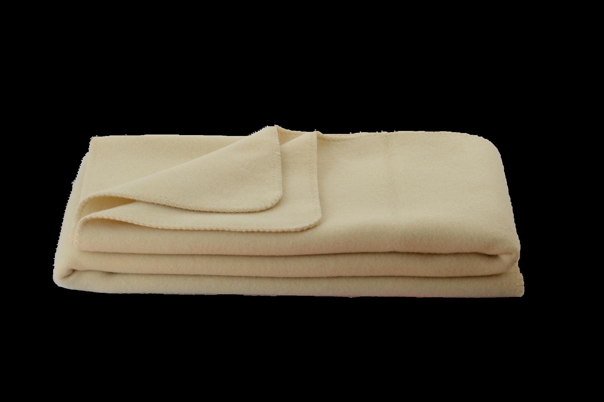 Steinbeck  Wollen baby deken Optilana ca  100 / 150 cm