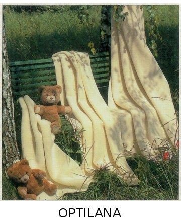 Steinbeck  Wollen baby deken Igor ca  75 / 100 cm