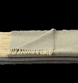 Steinbeck  Woonplaid Wafel  beige / off white