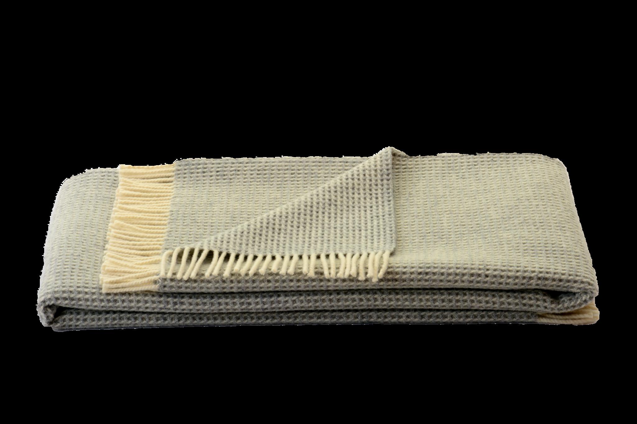 Steinbeck  Woonplaid Wafel  beige / off white 150 / 210 cm