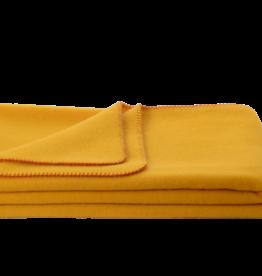 Steinbeck  Wollen baby / kinder deken Inn kleur geel