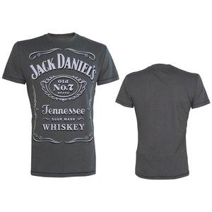 Jack Daniel's Classic Logo grijs T-Shirt
