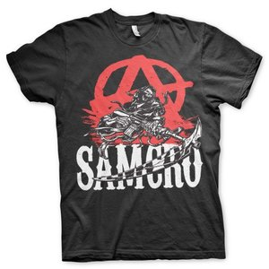 Sons of Anarchy SAMCRO Anarchy Reaper T-shirt