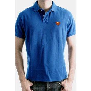 Superman Polo Shirt Logo