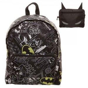 Batman Opvouwbare rugzak Logo Allover