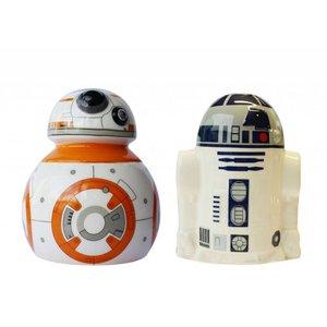 Star Wars R2-D2 en BB-8 Peper en zout set