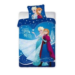 Frozen Anna en Elza Dekbedovertrek 140 x 200 Katoen