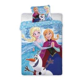 Frozen Dekbedovertrek Anna en Elsa Dansen 140 x 200