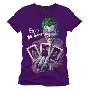Batman T-shirt Joker - Enjoy the game