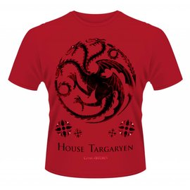 Game of Thrones shop T-shirt Targaryen Rood