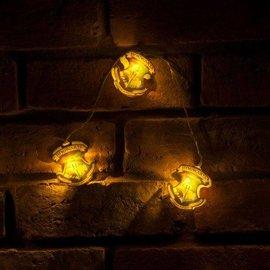 Harry Potter shop String Lights Hogwarts Crests