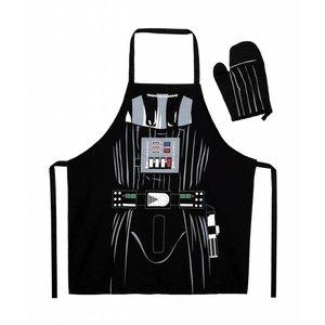 Star Wars keukenschort met ovenwant Darth Vader