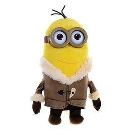 Despicable Me Minion knuffel 28cm Kevin met vest