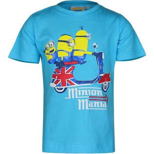 Despicable Me Minion Kinder T-shirt Blauw