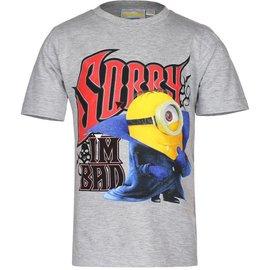 Despicable Me Minion Kinder T-shirt Grijs