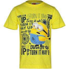 Despicable Me Minion Kinder T-shirt Geel
