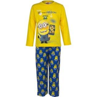 Despicable Me Lange Minion Kinder Pyjama (Geel)