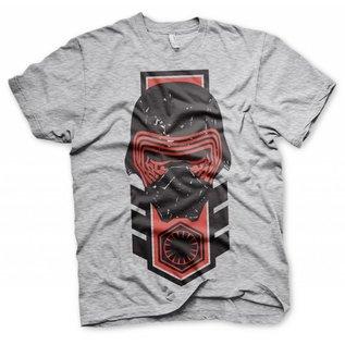 Star Wars Episode 7 The Force Awakens T-shirt Kylo Ren Vintage (grijs)