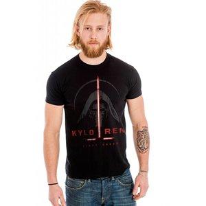 Star Wars Episode 7 The Force Awakens T-shirt Kylo Ren First Order (zwart)