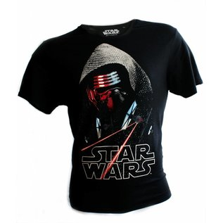 Star Wars Episode 7 T-shirt Kylo Ren Space (zwart)