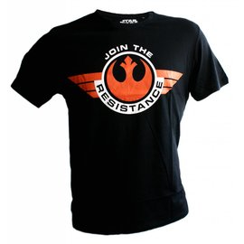 Star Wars Episode 7 T-shirt Join The Resistance (zwart)