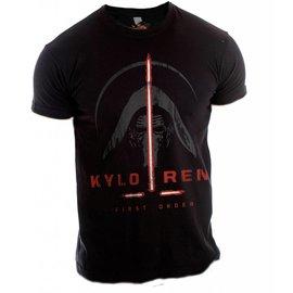 Star Wars Episode 7 T-shirt Kylo Ren First Order (zwart)