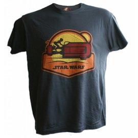 Star Wars Episode 7 T-shirt Speeder (donkergrijs)