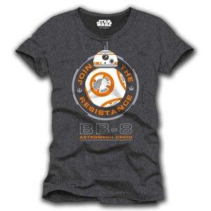 Star Wars Episode 7 T-shirt BB-8 droid (Donkergrijs)