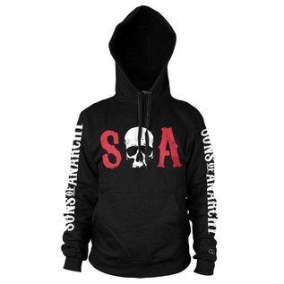 Sons of Anarchy SOA Hooded Sweater