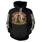 Sons of Anarchy SAMCRO Men of Mayhem Hooded Sweater