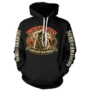 Sons of Anarchy SAMCRO Men of Mayhem Hooded Sweater