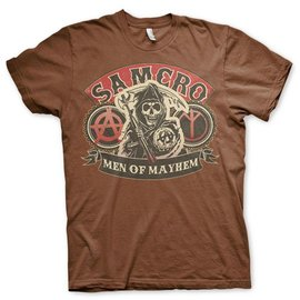 Sons of Anarchy SAMCRO Men of Mayhem T-Shirt