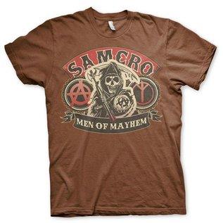 Sons of Anarchy SAMCRO Men of Mayhem T-Shirt