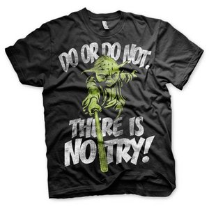Star Wars Yoda There is no Try! T-Shirt