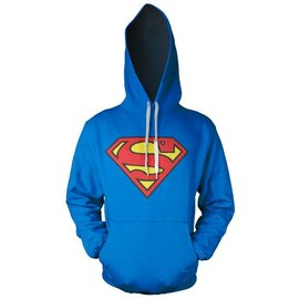 Superman Logo Hooded Sweater