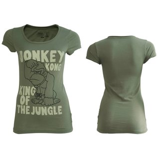Nintendo Donkey Kong Girly T-Shirt