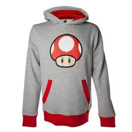 Nintendo Red Power Up Mushroom Hooded Sweater
