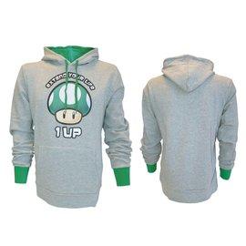 Nintendo Green 1 Up Mushroom Hooded Sweater