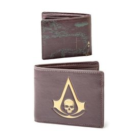 Assassin's Creed Skull Crest Logo Wallet