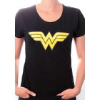 Wonder Woman Logo Girly T-shirt