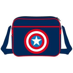 Captain America Logo Shoulder Bag
