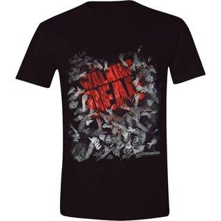 The Walking Dead T-shirt Walker Horde