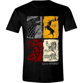 Game of Thrones shop T-shirt Vintage wapenschilden