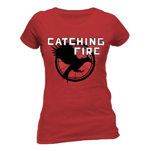 The Hunger Games Catching Fire Girly T-Shirt