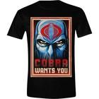 GI Joe T-shirt Cobra Wants You