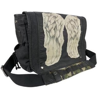 The Walking Dead Schoudertas - Daryl Dixon Wings messenger bag grote versie