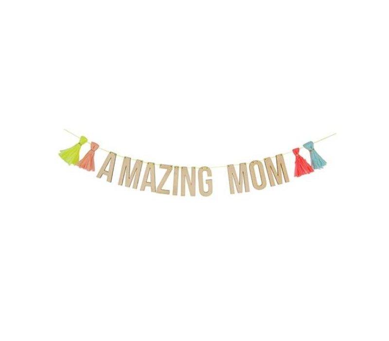 amazing mum garland