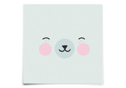 Eef Lillemor animal faces - polar