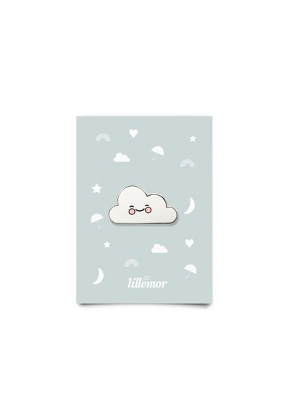animal pin - cute cloud